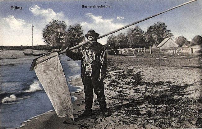 Bernstein schöpfer Ловец янтаря