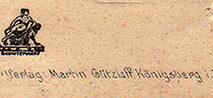 Издатели открыток Восточной Пруссии