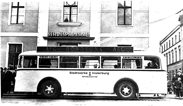 Инстербургский троллейбус Instereburger omnibus