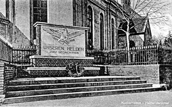 Каукемен Ясное Памятник солдатам 1-й мировой войны