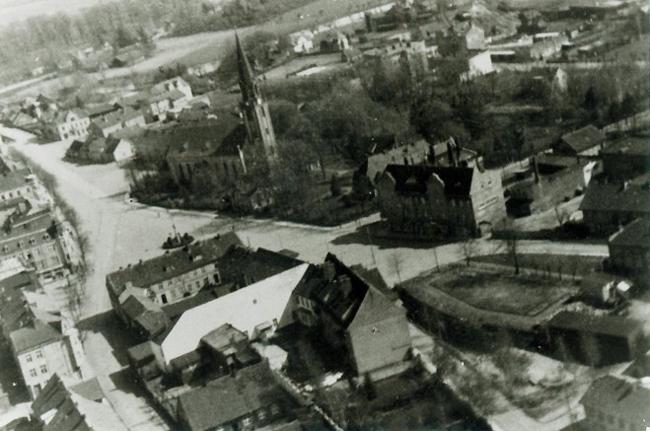 Каукемен Кукернеезе Ясное. Воздушная съёмка. 1943.