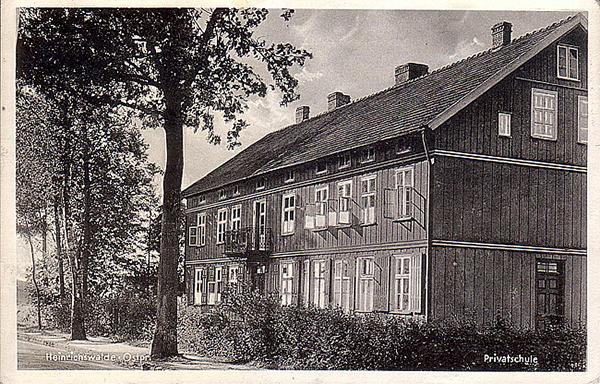 Хайнрихсвальде Славск Heinrichswalde_1941