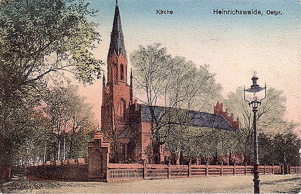 Хайнрихсвальде Славск Heinrichswalde Slawsk кирха