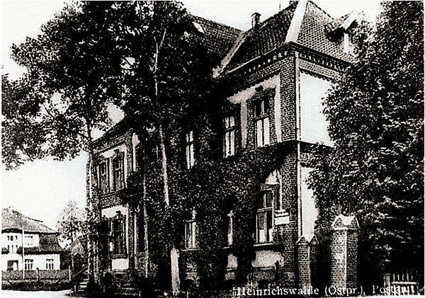 Славск Хайнрихсвальде Heinrichswalde-Friedrichstrasse-Postamt