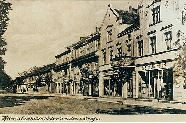 Хайнрихсвальде Славск Heinrichswalde Slawsk Friedrichstrasse