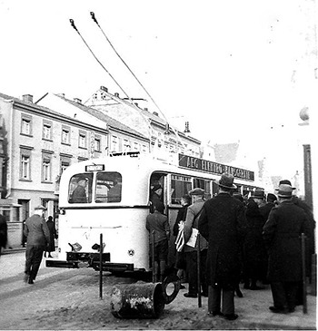 Insterburg Trolleybus_Mercedes