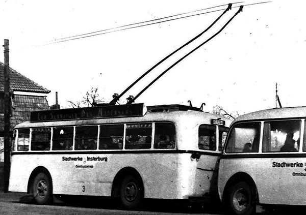 Insterburg trolleybus