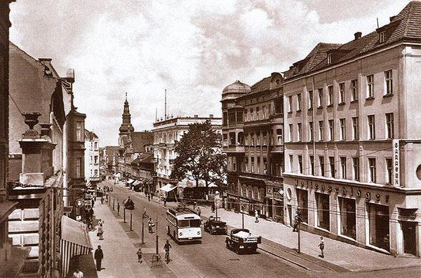 Insterburg_O-bus_Hindenburgstrasse