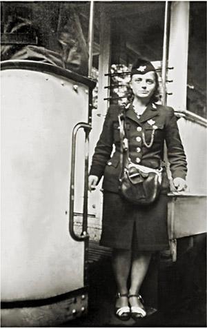 Tilsit Strassenbahn 1942
