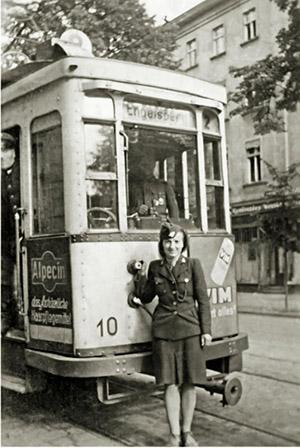 Tilsit Strassenbahn 194x Тильзитский трамвай