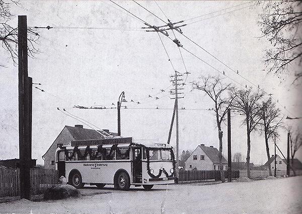 Инстербургский троллейбус Insterburg trolleybus