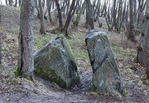 Пионерск Камень лжи Neukuhren Der Borstenstein