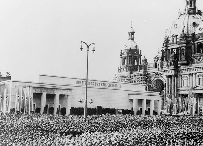 Советский рай - открытие выставки в Берлине 18 мая 1942 года