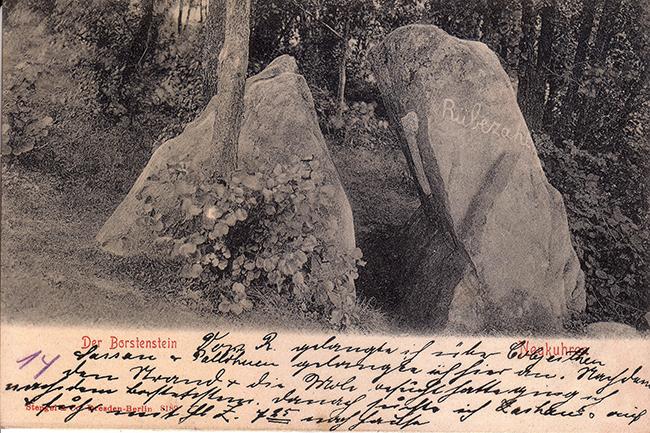 Камень лжи Пионерский Der Borstenstein bei Neukuhren