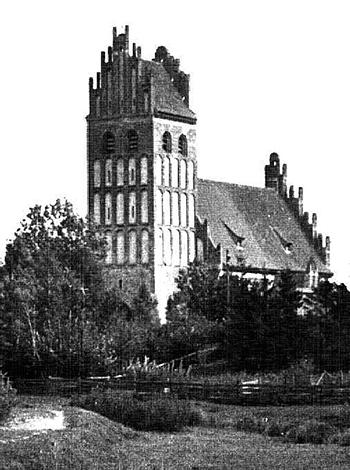 Die Pfarrkirche Gross Engelau