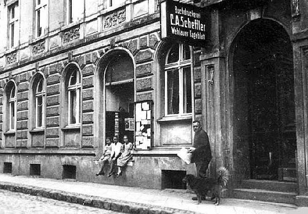 Druckerei Scheffler in Wehlau