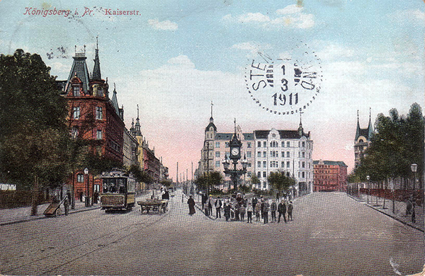 Koenigsberg Kaiserstrasse 1911
