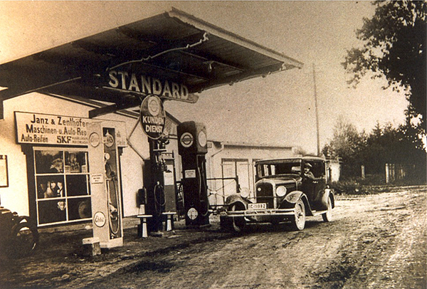 Neukirch Gas station