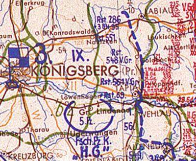 Operarion map_Wehlau 24-01-1945