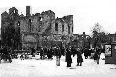 Rathaus Wehlau 1945-46