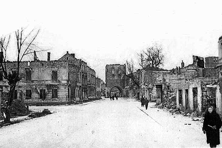 Steintor Wehlau und Post 1945-46