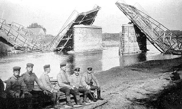 Русские войска в Велау. Weltkrieg wurde am 24 August 1914