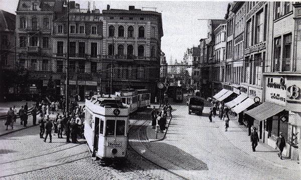 Кенигсбергский трамвай Кайзер-Вильгельм-Платц 1944