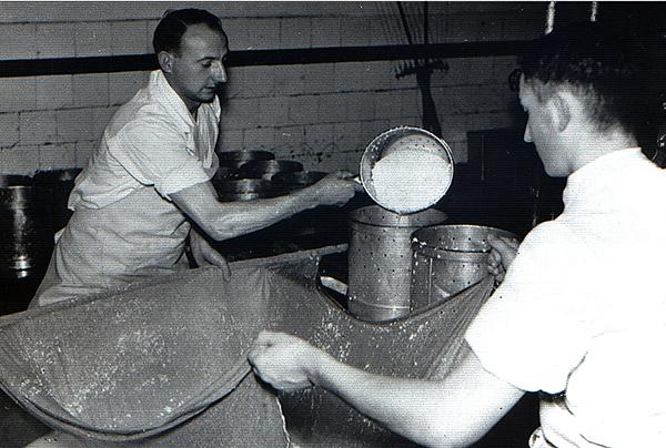 Тильзитер приготовление Tilsiter Kaese 1940
