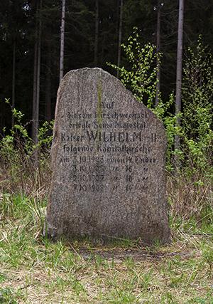 4 оленя Kamienie Wilhelma Puszcza Romincka