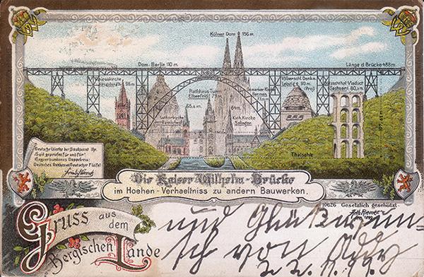 Bergischen Lande 1899