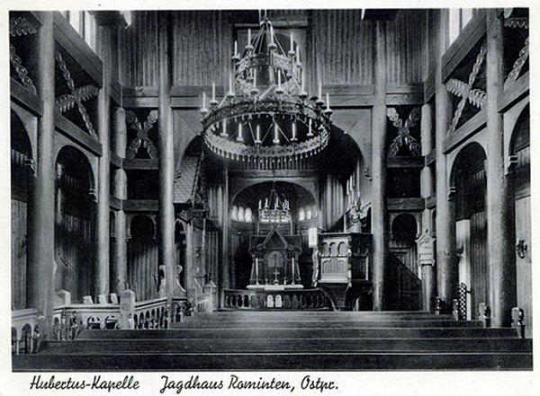 Hubertus Kapelle Inner