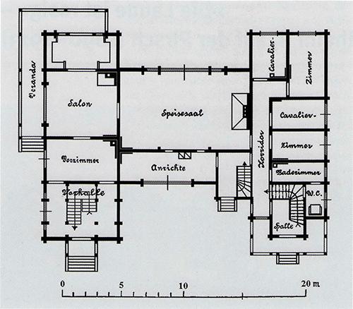 Jagdschloss plan