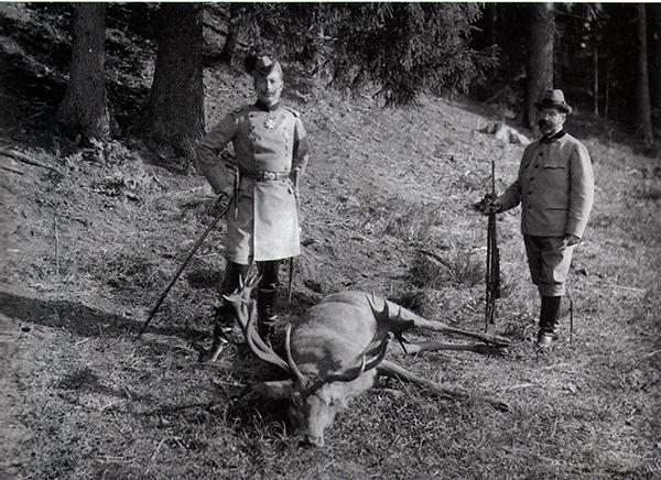 Kaiser Wilhelm II Rominten Heide 28-9-1898