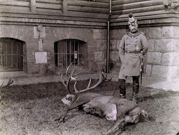 Kaiser in Rominten 1896