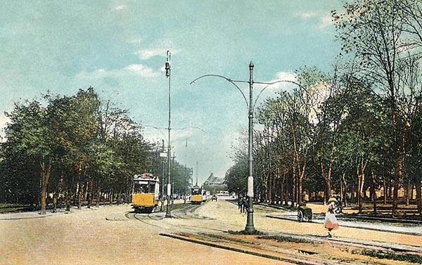 Koenigsberg Kaiser-Wilhelm-Damm 1910-1919