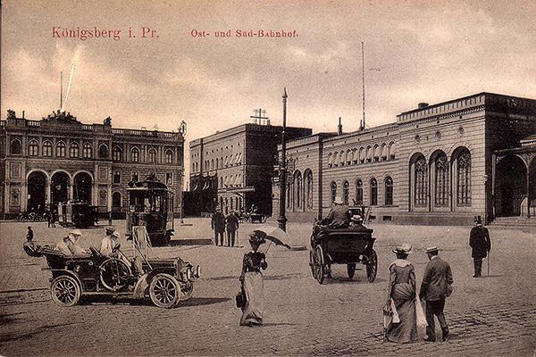 Koenigsberg Ost und Sud-Bahnhof