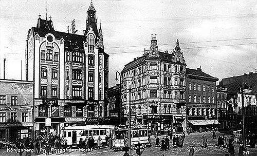 Koenigsberg Rossgarter Markt