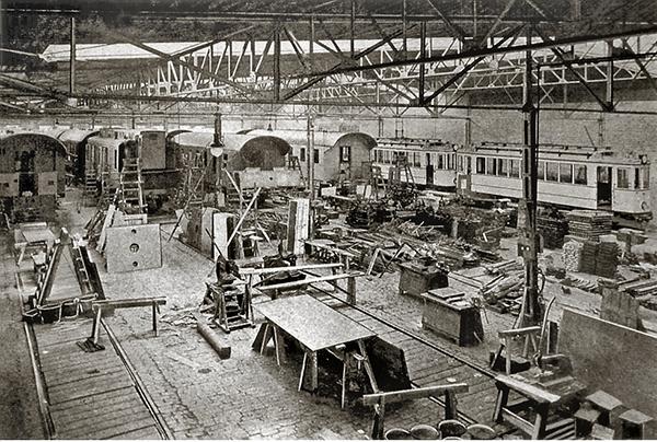 Koenigsberg Steinfurt fabrik Montagehalle 1920-1940