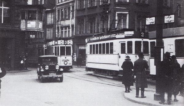 Koenigsberg Strassenbahn Linie 2 und 3