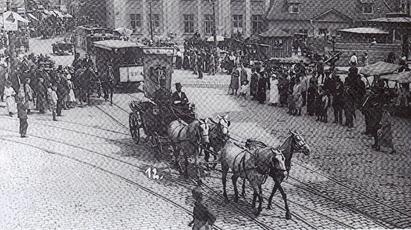 Koenigsberg Triebwagen Linie 2 1914