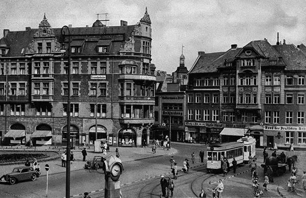 Koenigsberg funf strassen am Rossragrter Markt