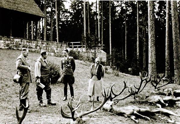 Охота в Роминтской пуще Rominter Heide Goering