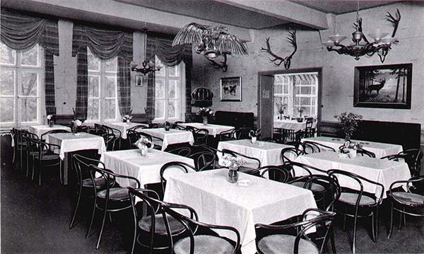 Speise Saal Гостиницы Роминтской пущи