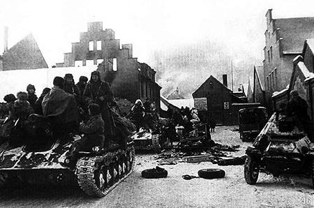Округ Велау русские войска в восточной пруссии