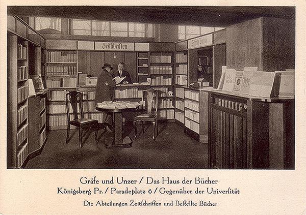 Koenigsberg_Grafe und Unzer
