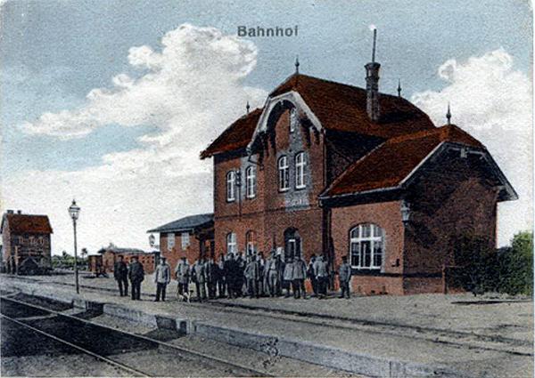 Pillupoenen Bahnhof
