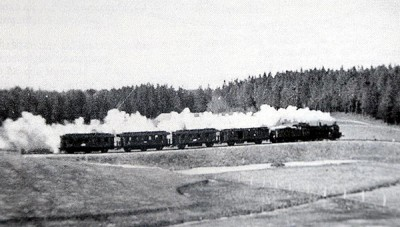 История железных дорог Роминтской пущи