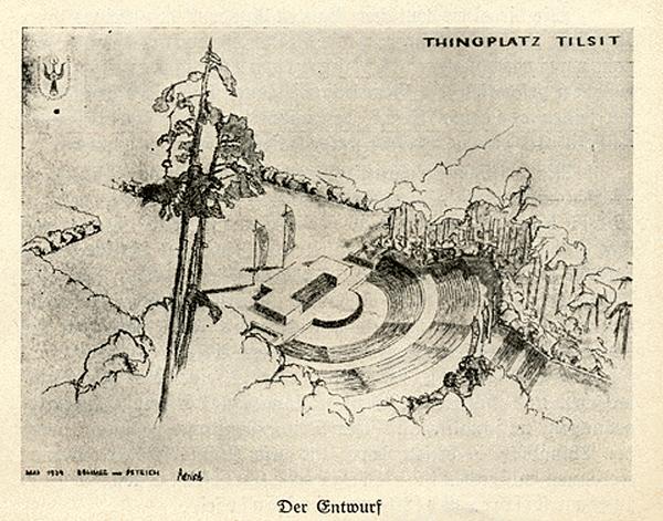 Entwurf Tilsit Thingplatz