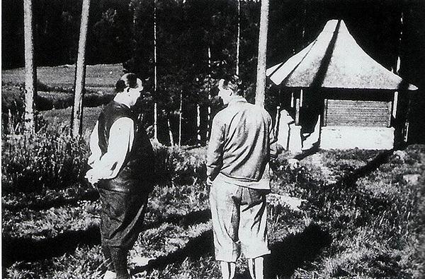 Goering Henderson Teehaus Rominten Oktober 1937