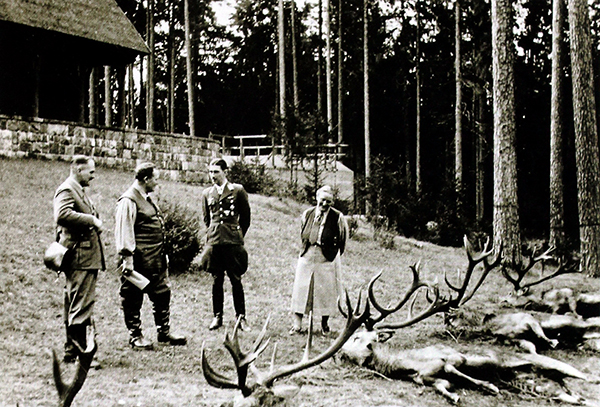 Goering mit Gests